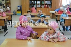 Будущие первоклашки в гостях у школьников